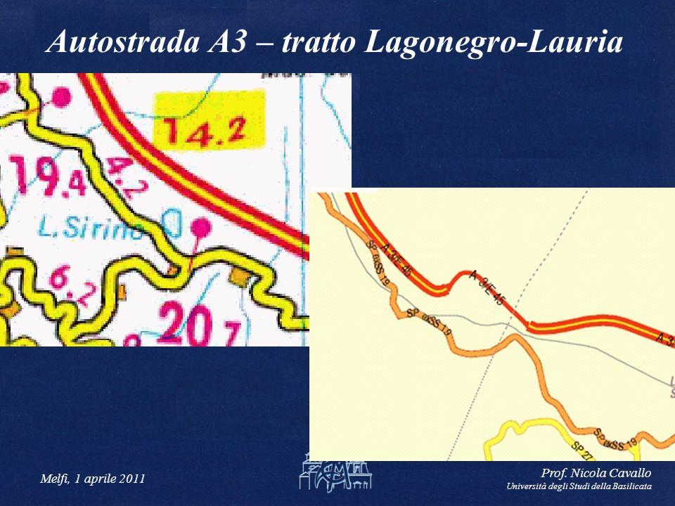 Autostrada A3 – tratto Lagonegro-Lauria