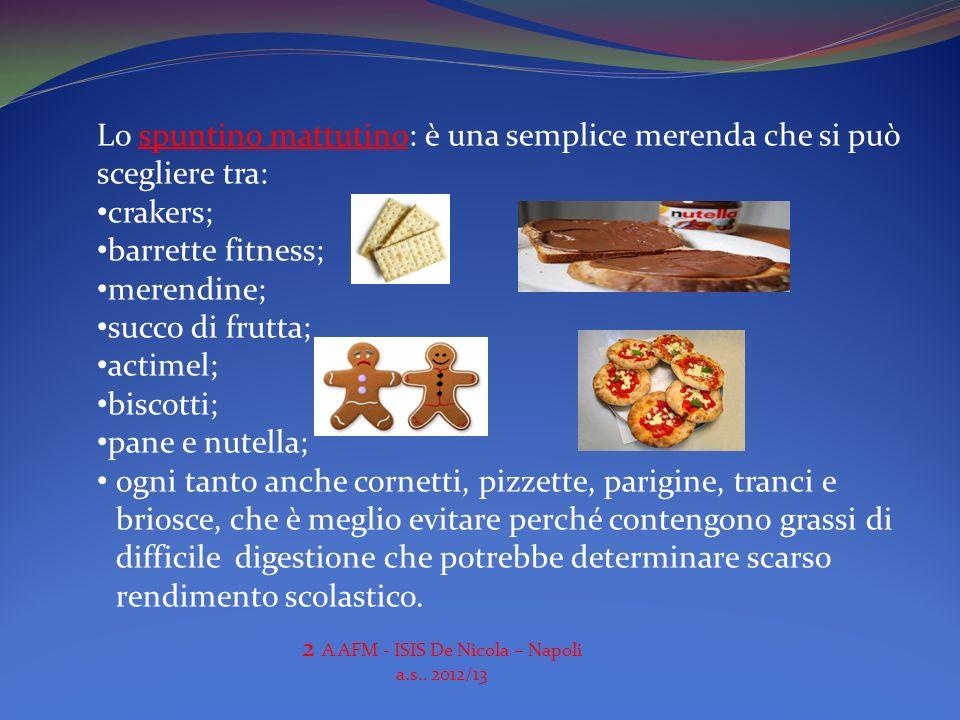 2 A AFM - ISIS De Nicola – Napoli a.s.. 2012/13