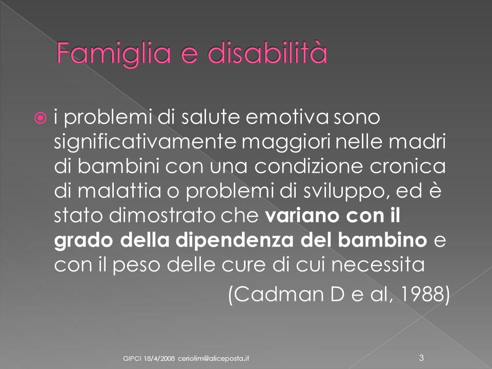 Famiglia e disabilità