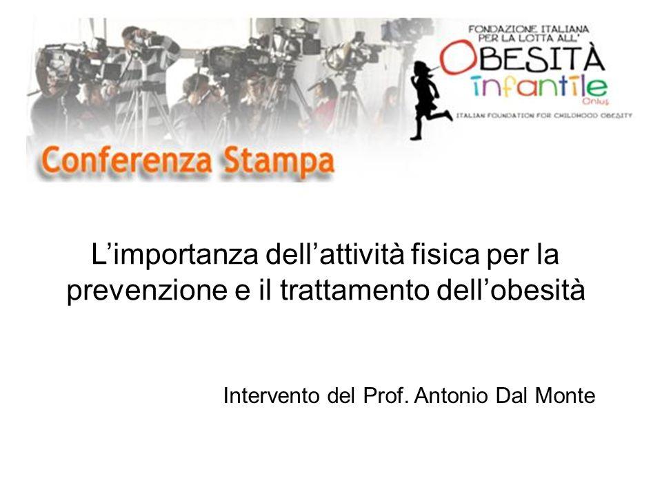 L'importanza dell'attività fisica per la prevenzione e il trattamento dell'obesità