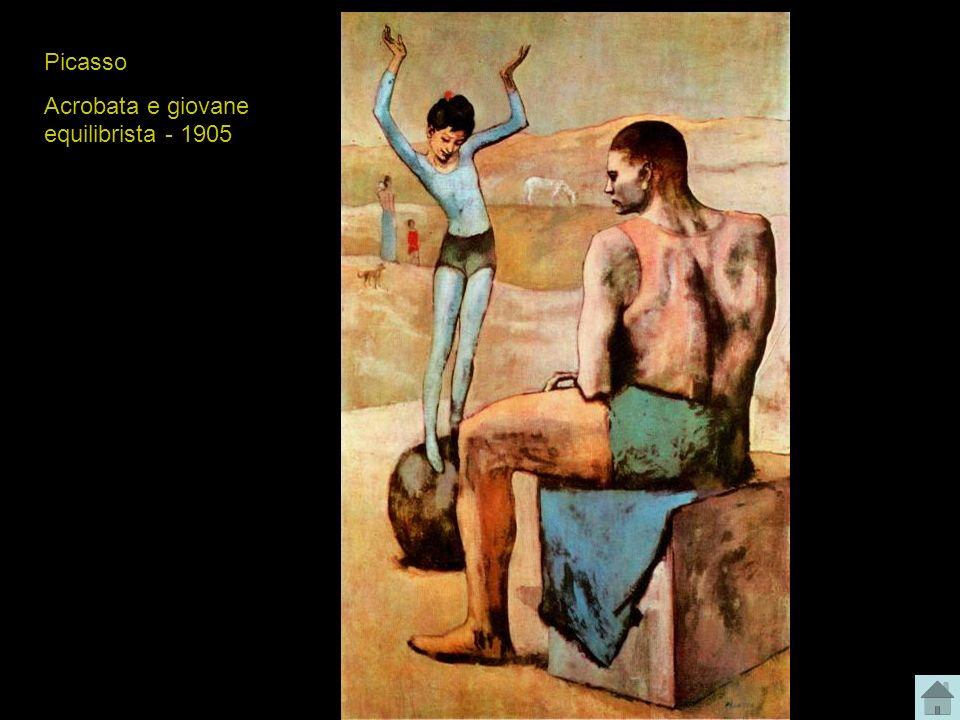 Picasso Acrobata e giovane equilibrista - 1905