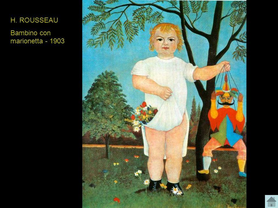 H. ROUSSEAU Bambino con marionetta - 1903