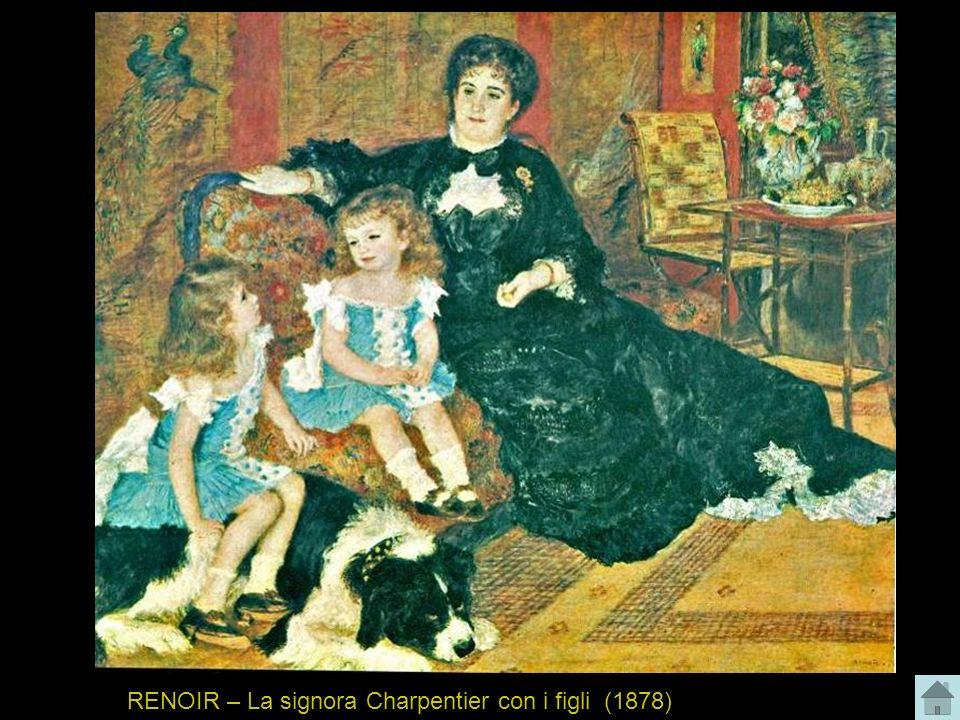 RENOIR – La signora Charpentier con i figli (1878)