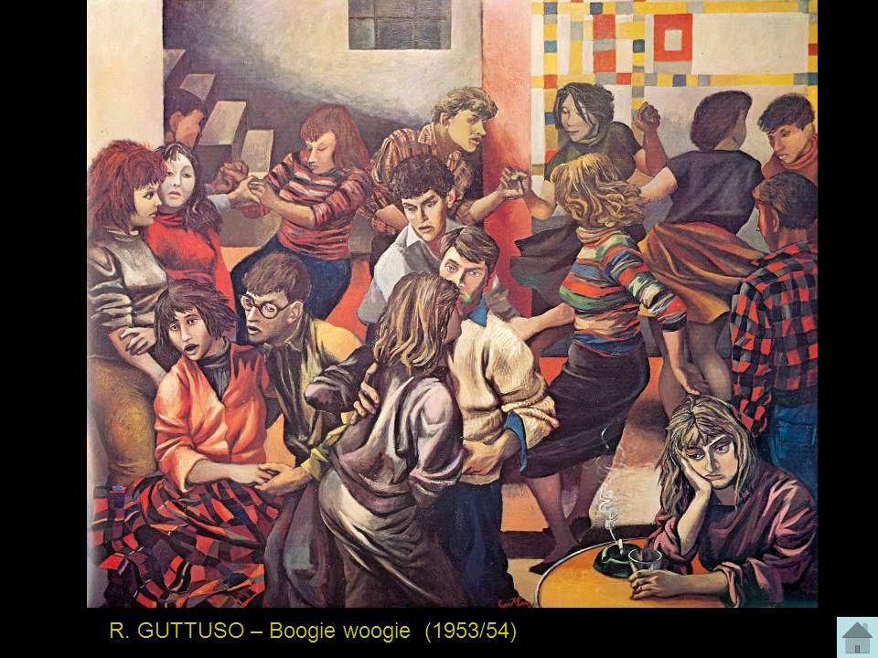 R. GUTTUSO – Boogie woogie (1953/54)