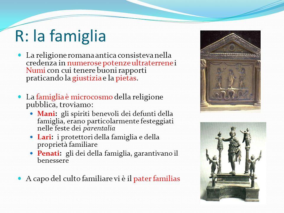 R: la famiglia