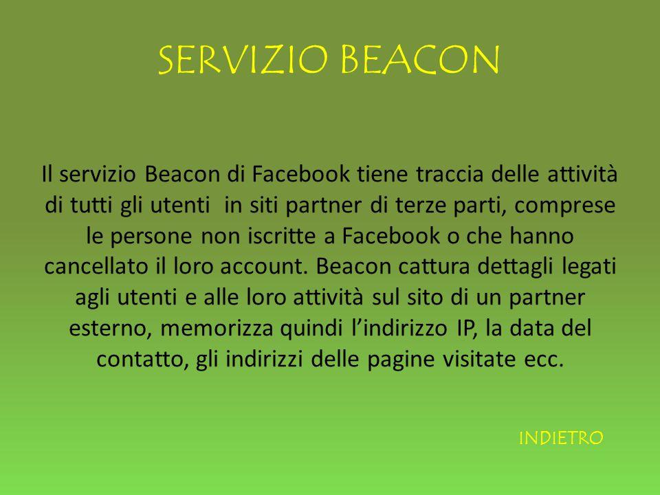 SERVIZIO BEACON