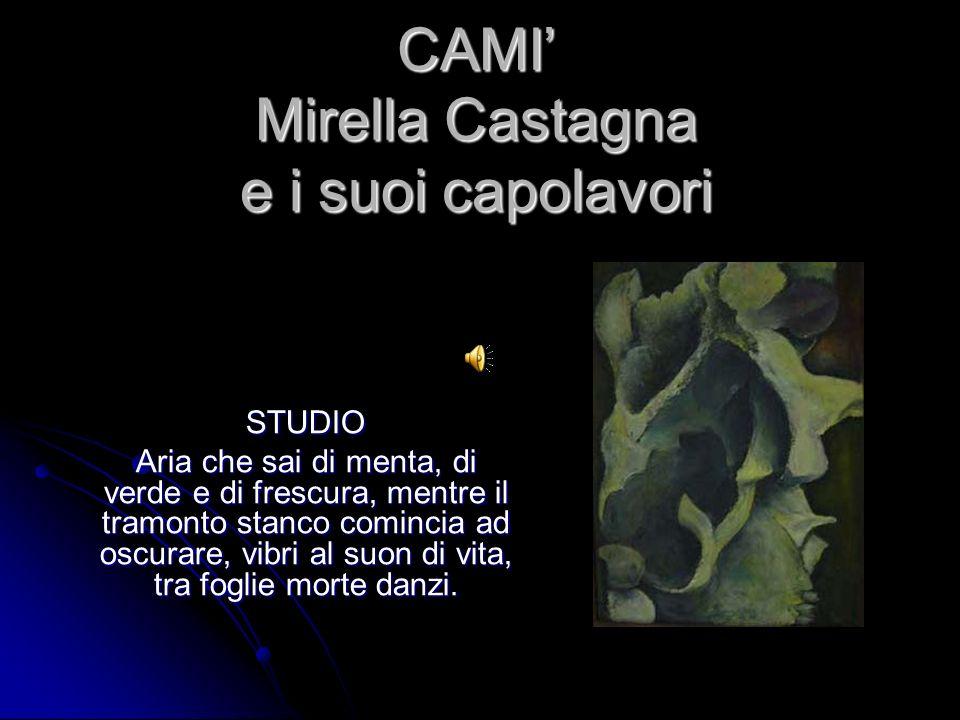 CAMI' Mirella Castagna e i suoi capolavori