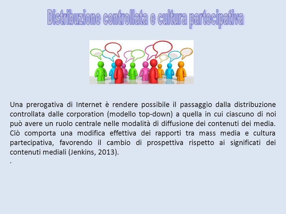 Distribuzione controllata e cultura partecipativa