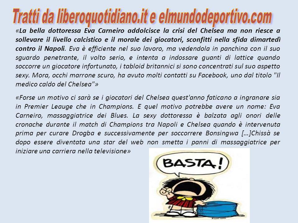 Tratti da liberoquotidiano.it e elmundodeportivo.com