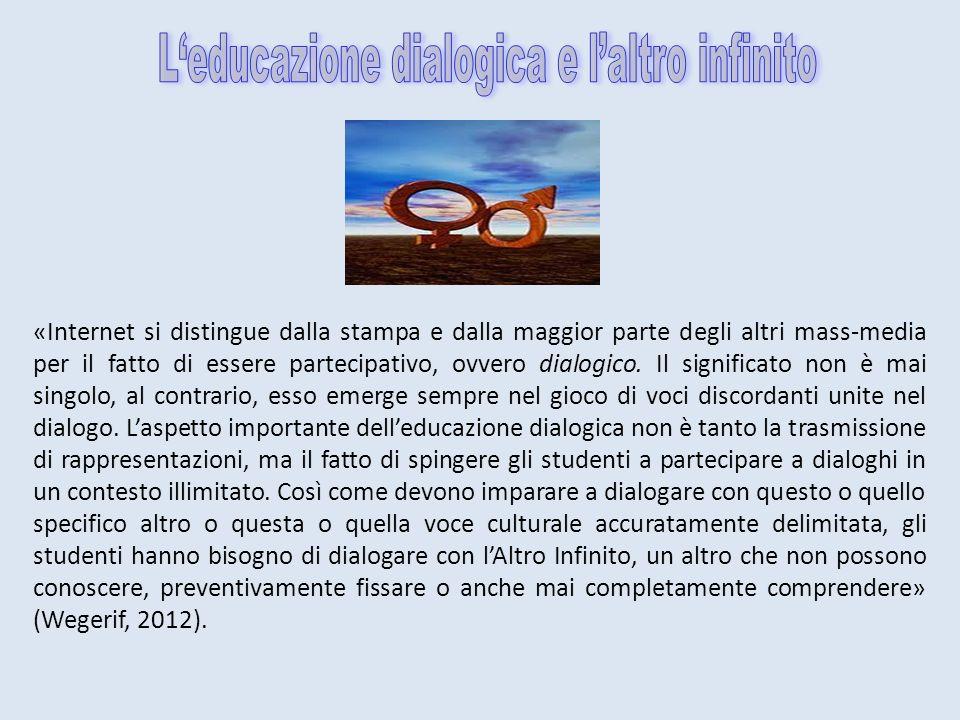 L'educazione dialogica e l'altro infinito