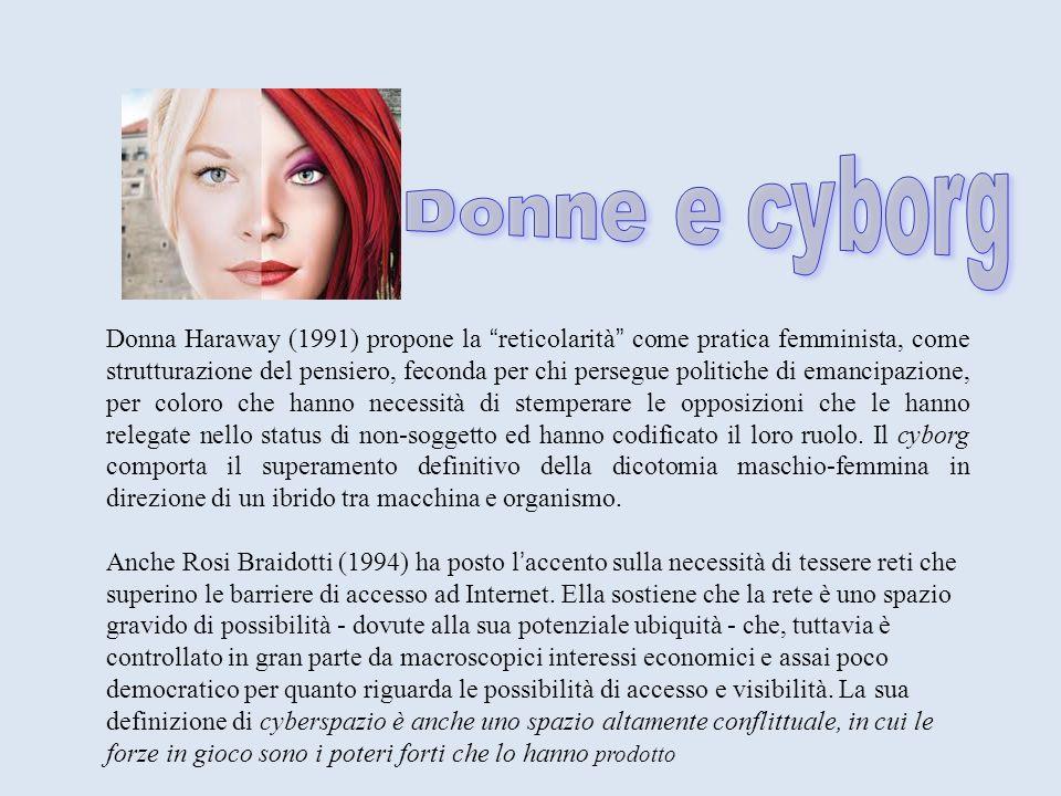 Donne e cyborg