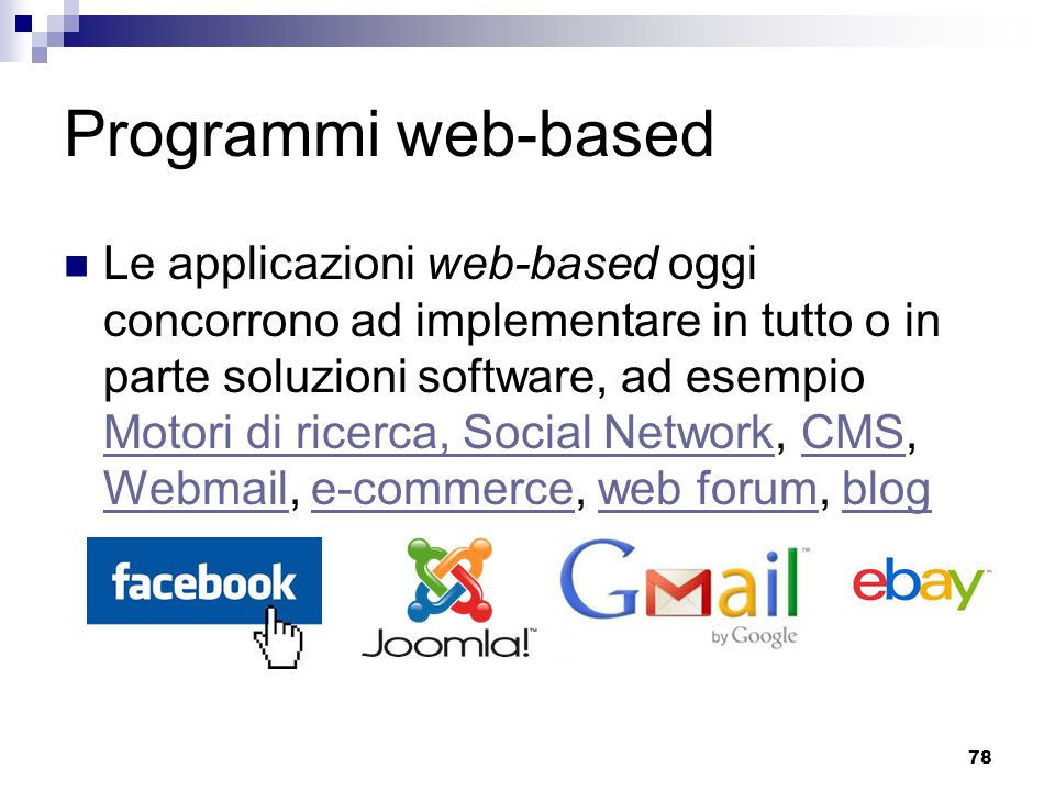 Programmi web-based