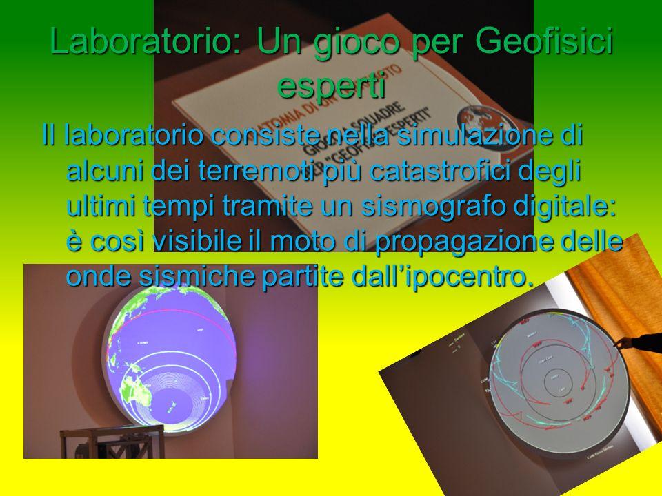 Laboratorio: Un gioco per Geofisici esperti