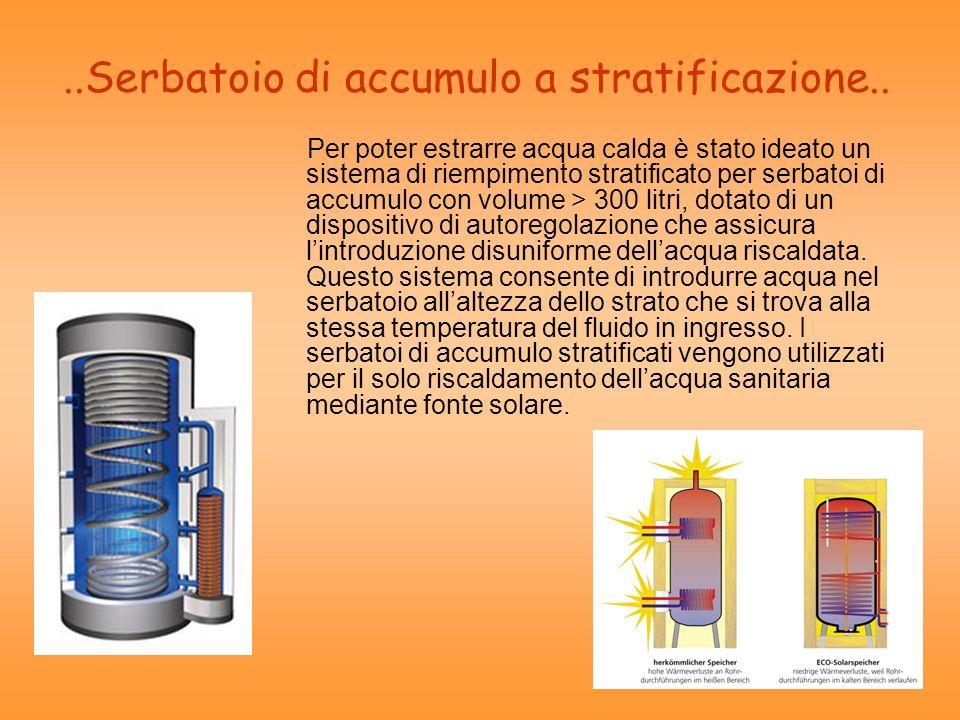 ..Serbatoio di accumulo a stratificazione..