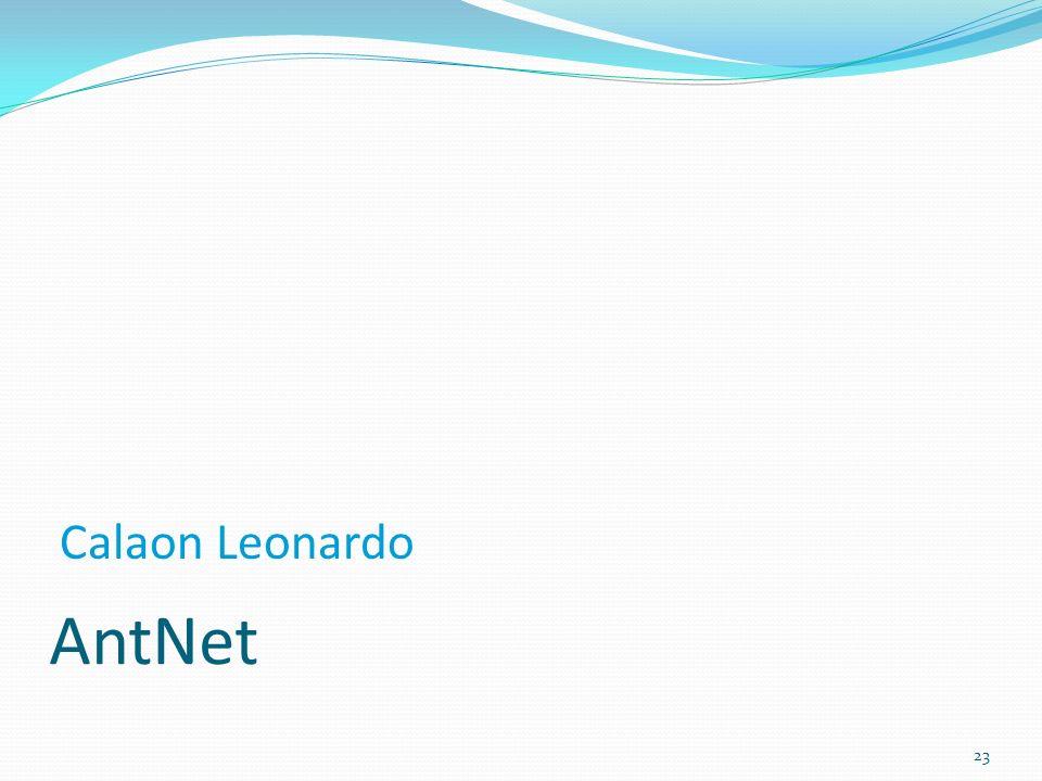 Calaon Leonardo AntNet