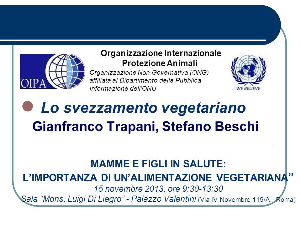 Lo svezzamento vegetariano Gianfranco Trapani, Stefano Beschi