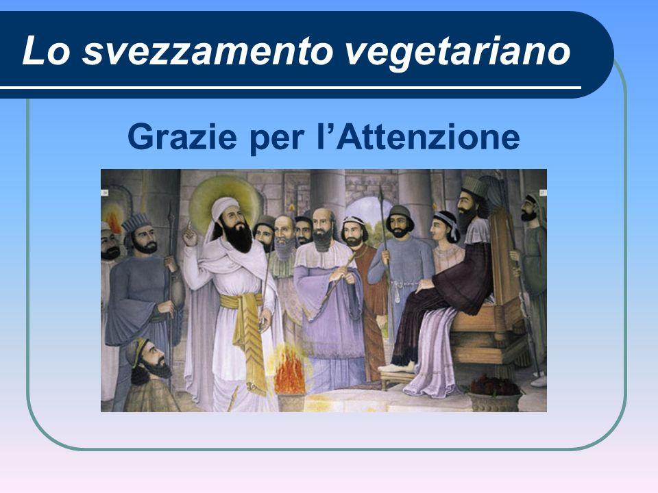 Lo svezzamento vegetariano