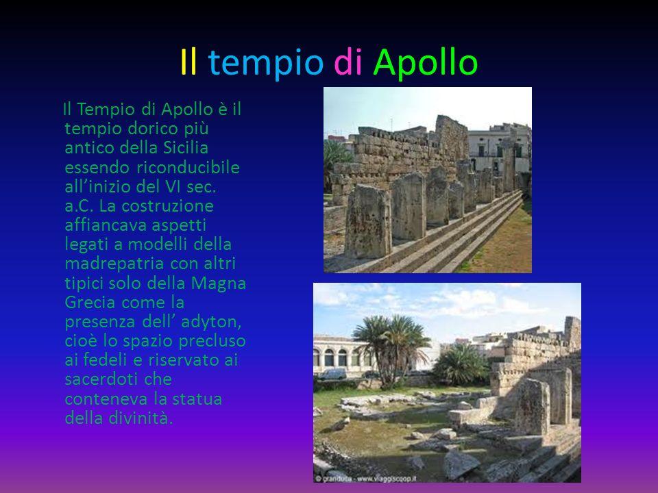 Il tempio di Apollo