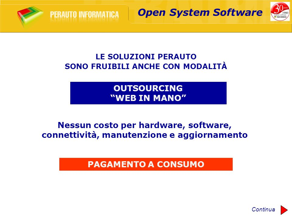 Open System Software OUTSOURCING WEB IN MANO