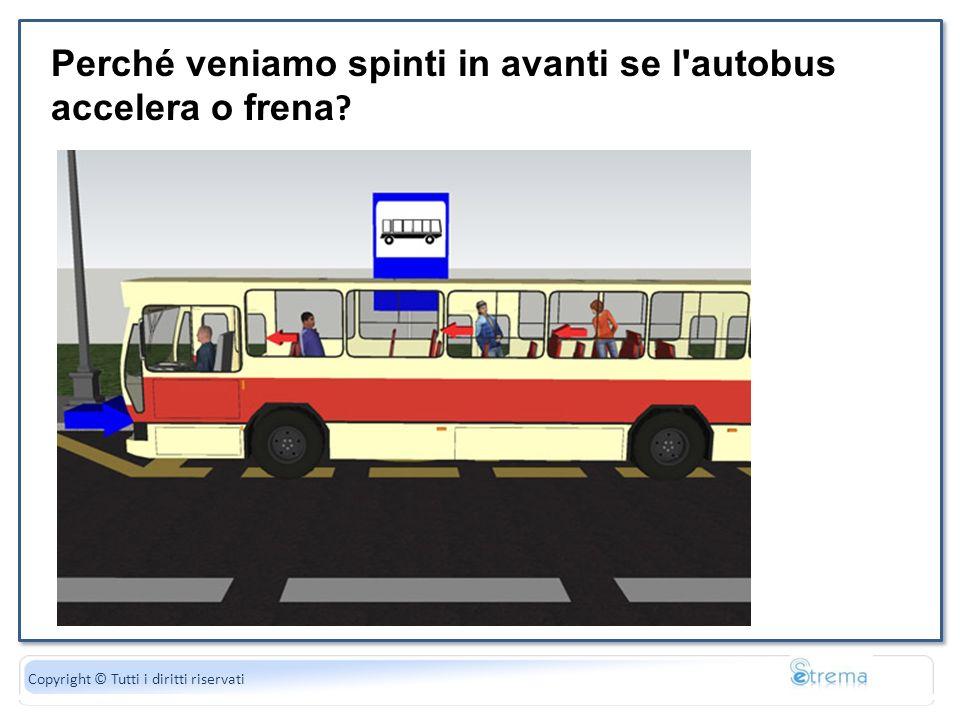 Perché veniamo spinti in avanti se l autobus accelera o frena