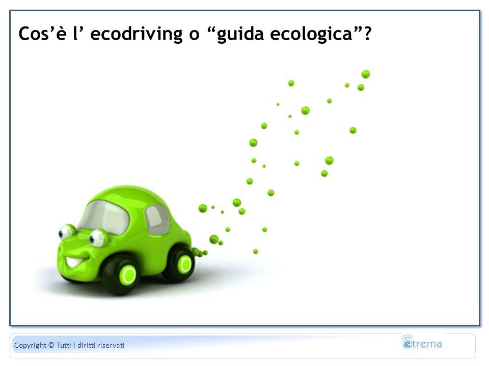 Cos'è l' ecodriving o guida ecologica
