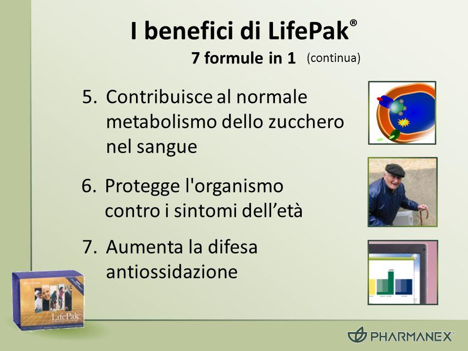 I benefici di LifePak® 7 formule in 1