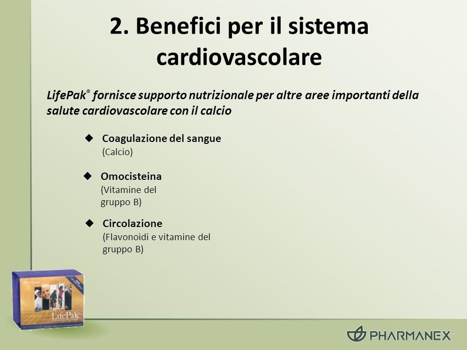 2. Benefici per il sistema cardiovascolare