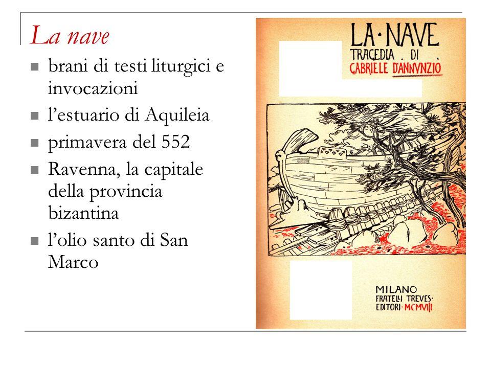 La nave brani di testi liturgici e invocazioni l'estuario di Aquileia