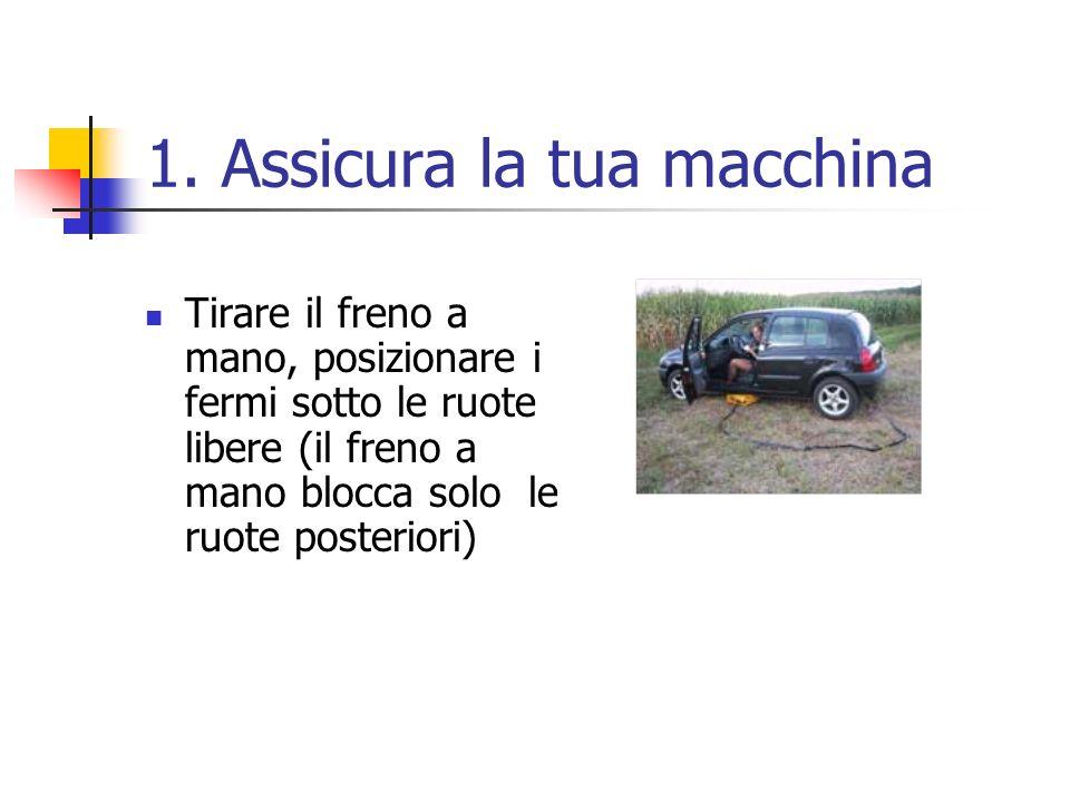 1. Assicura la tua macchina