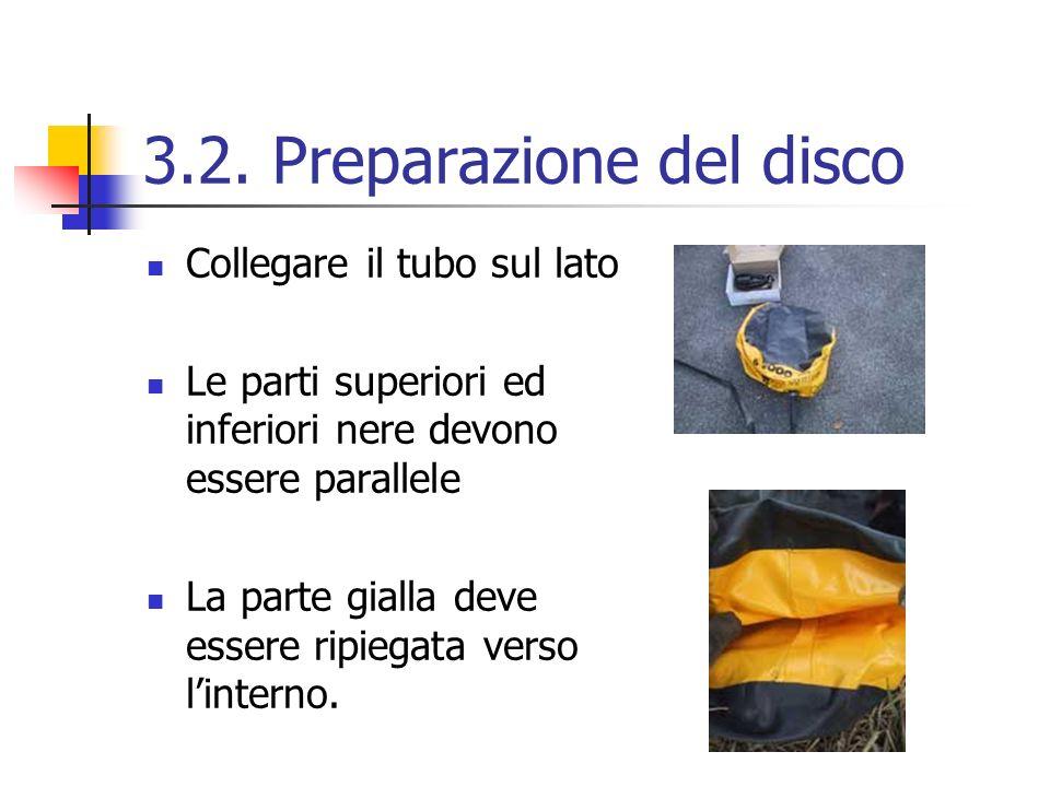 3.2. Preparazione del disco