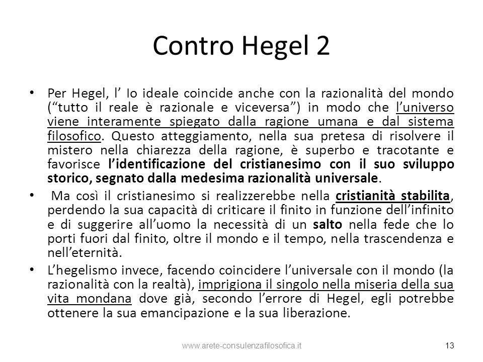 Contro Hegel 2