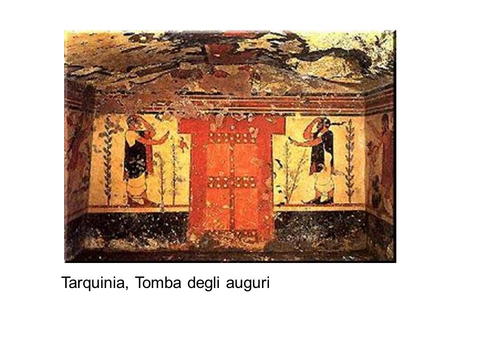 Tarquinia, Tomba degli auguri