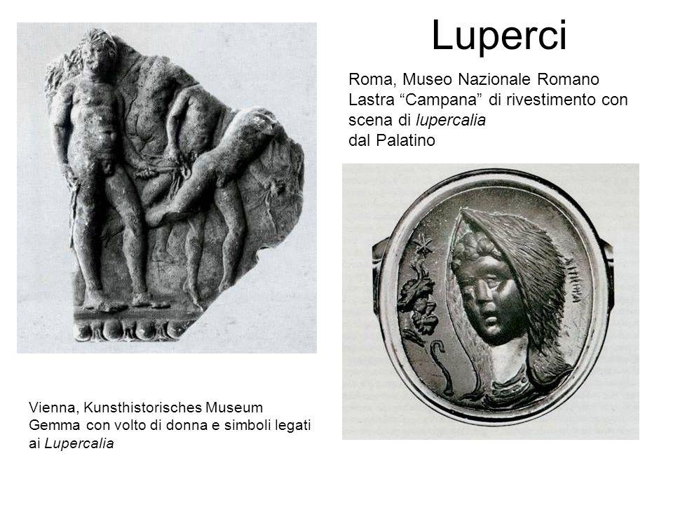 Luperci Roma, Museo Nazionale Romano