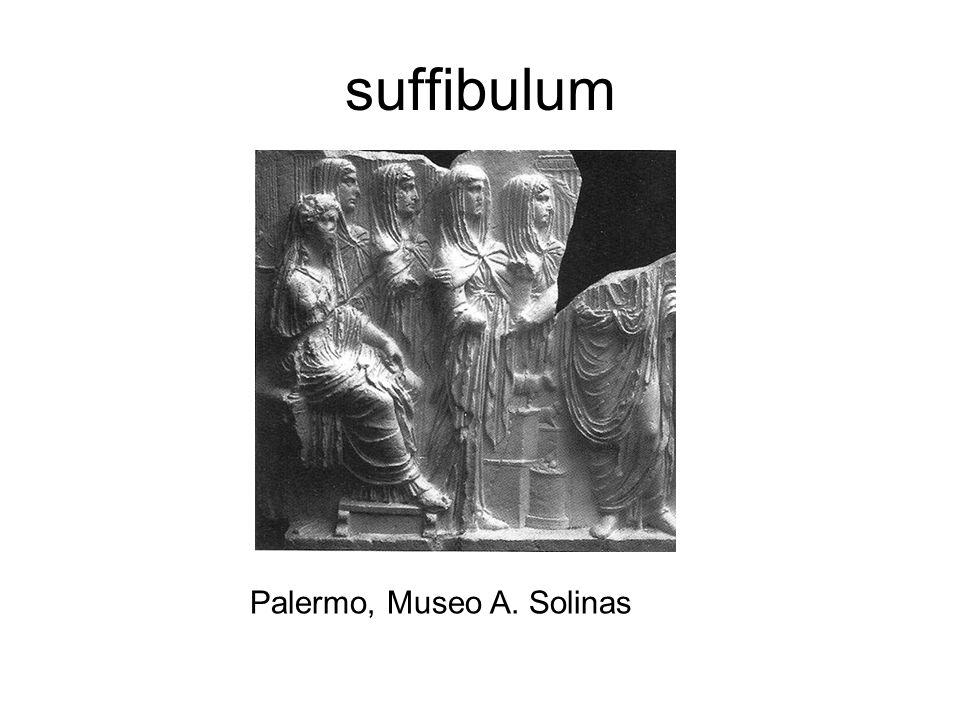 suffibulum Palermo, Museo A. Solinas