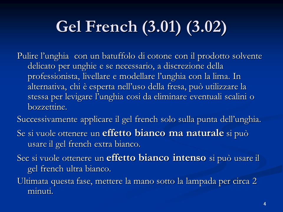 Gel French (3.01) (3.02)