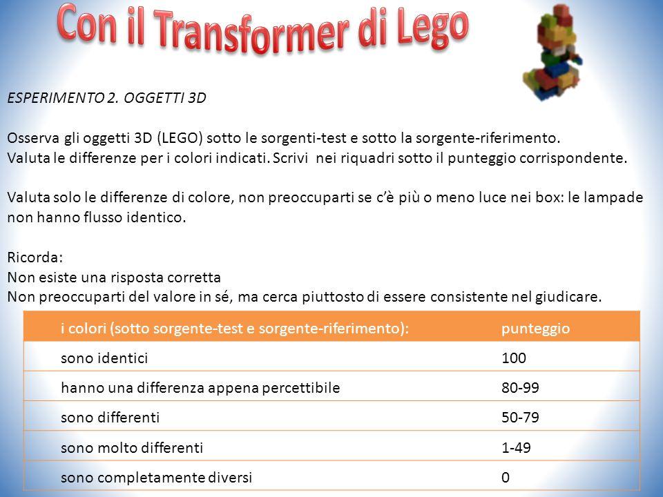 Con il Transformer di Lego