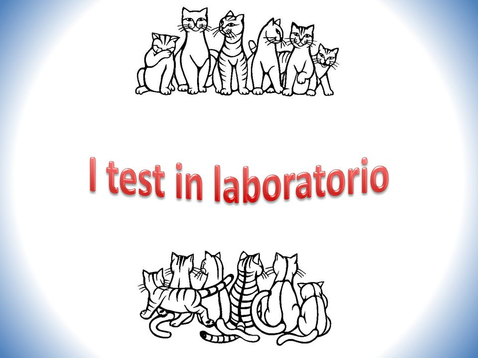 I test in laboratorio