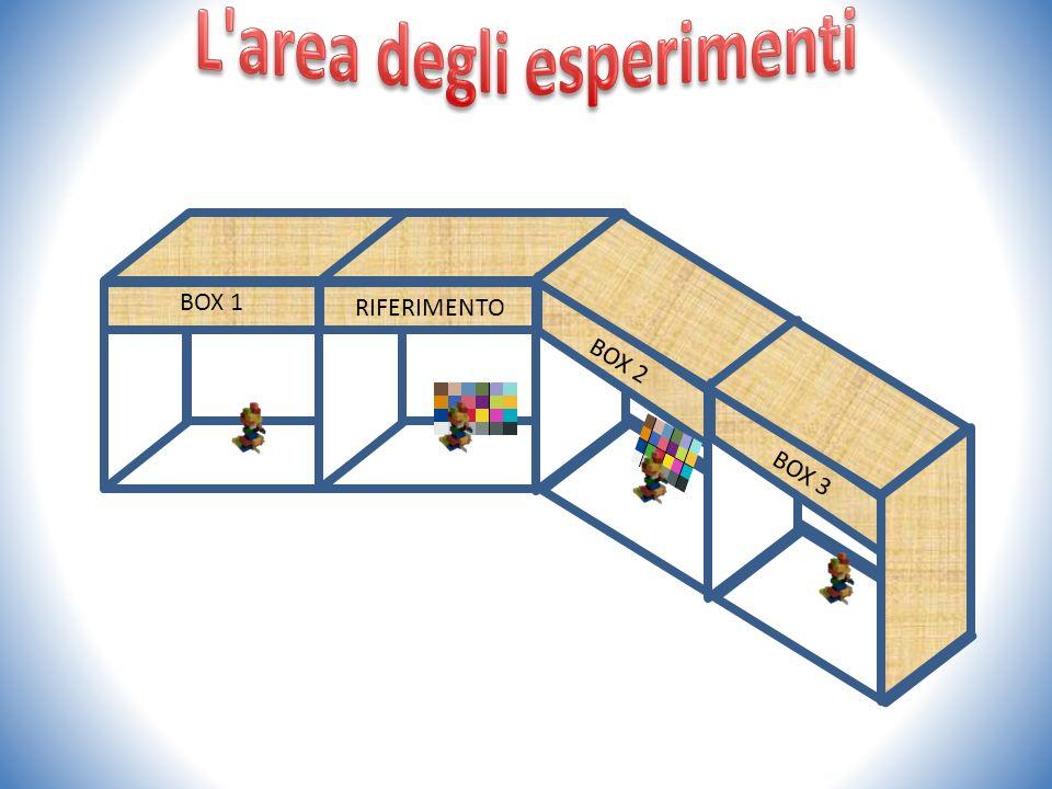 L area degli esperimenti