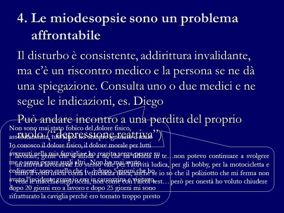 4. Le miodesopsie sono un problema affrontabile