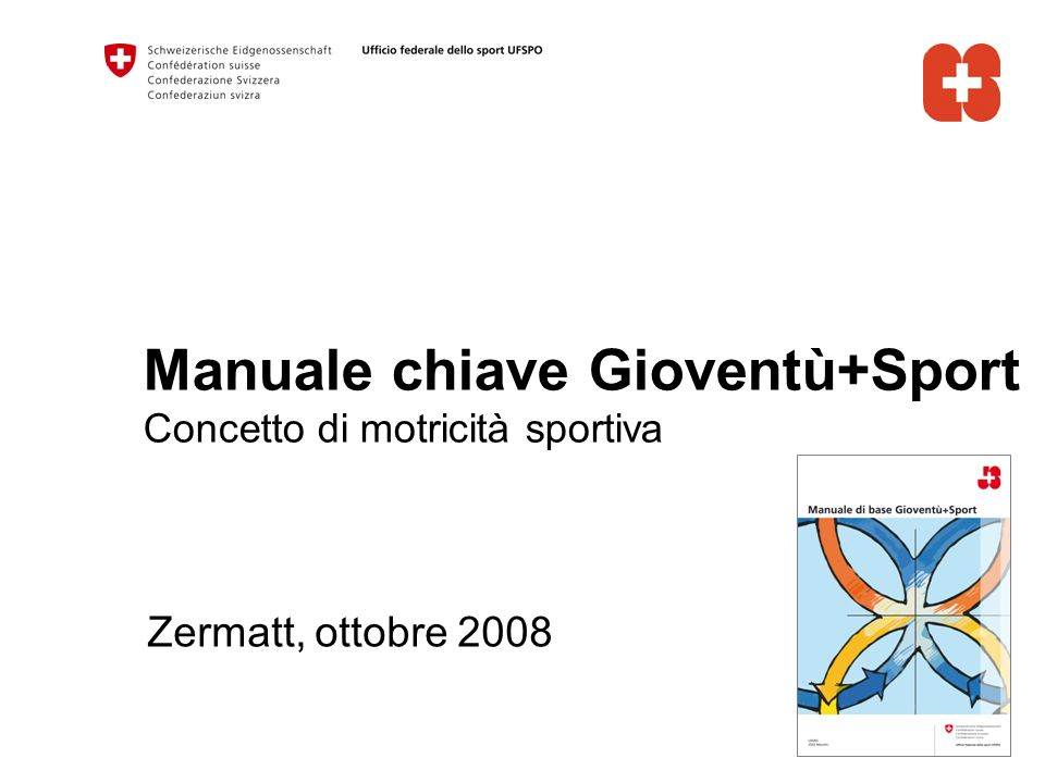 Manuale chiave Gioventù+Sport