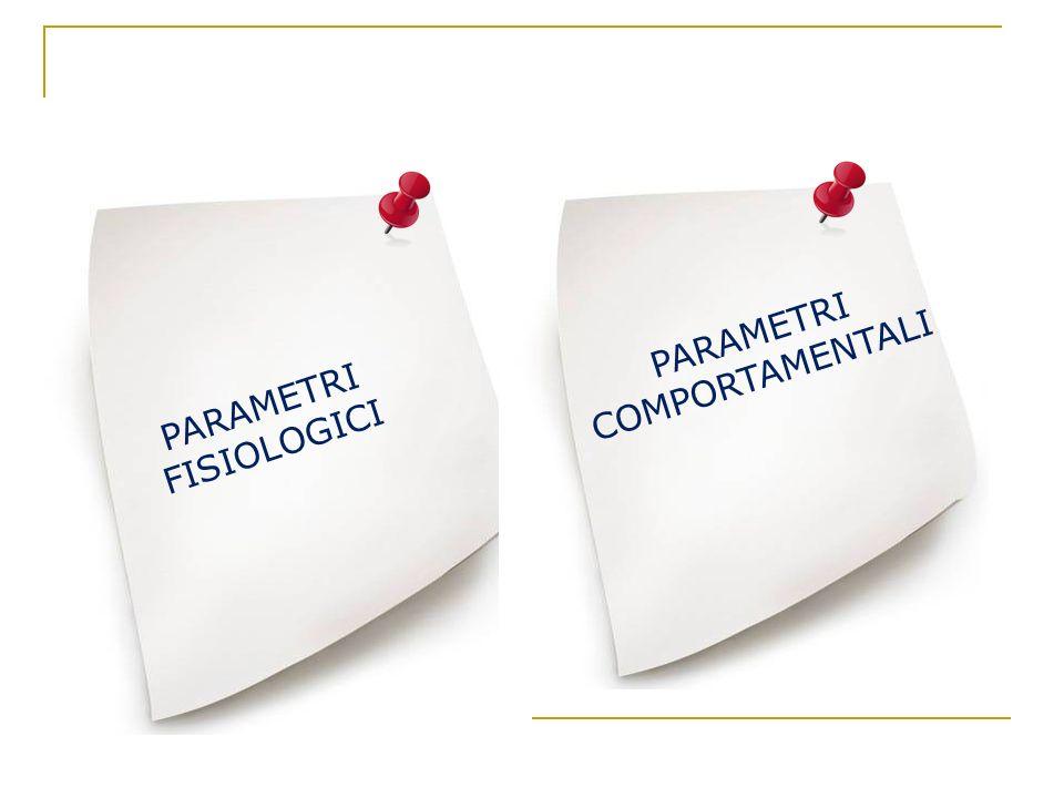 PARAMETRI COMPORTAMENTALI