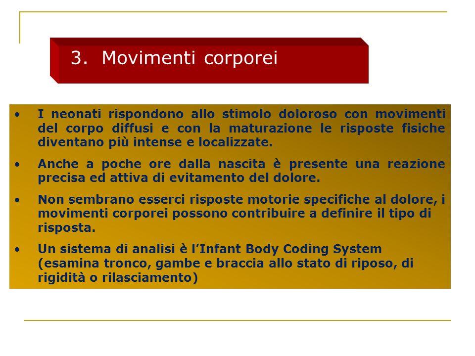 3. Movimenti corporei