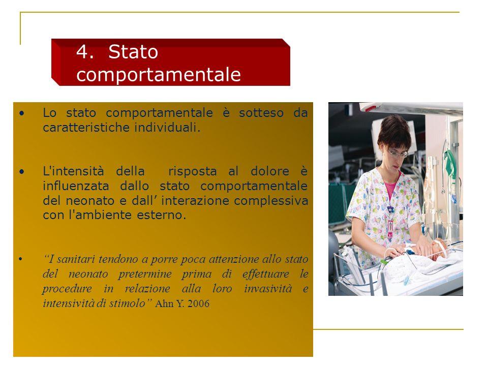 4. Stato comportamentale