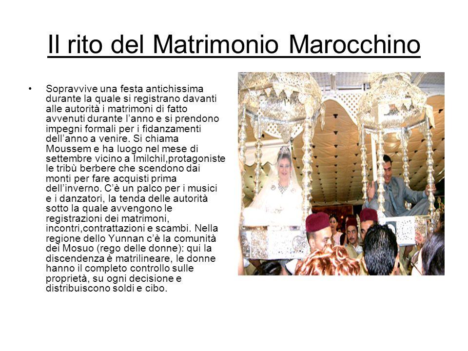 Il rito del Matrimonio Marocchino