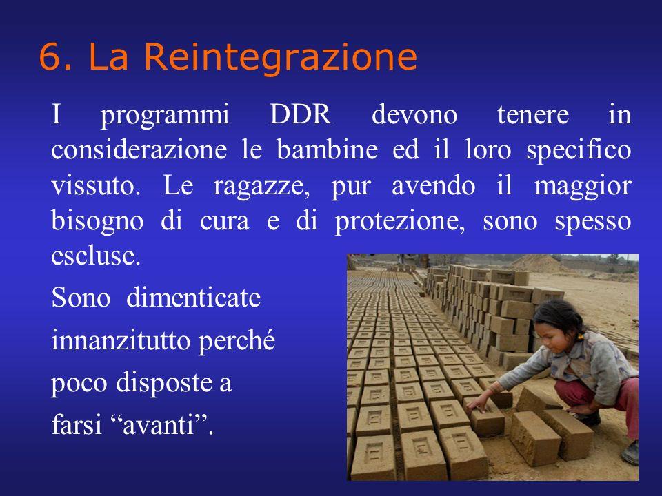 6. La Reintegrazione