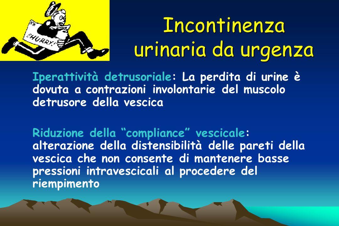 Incontinenza urinaria da urgenza