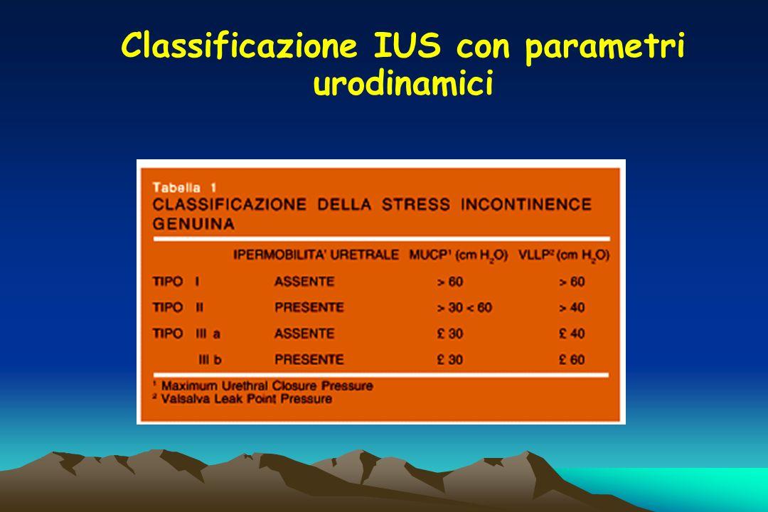 Classificazione IUS con parametri