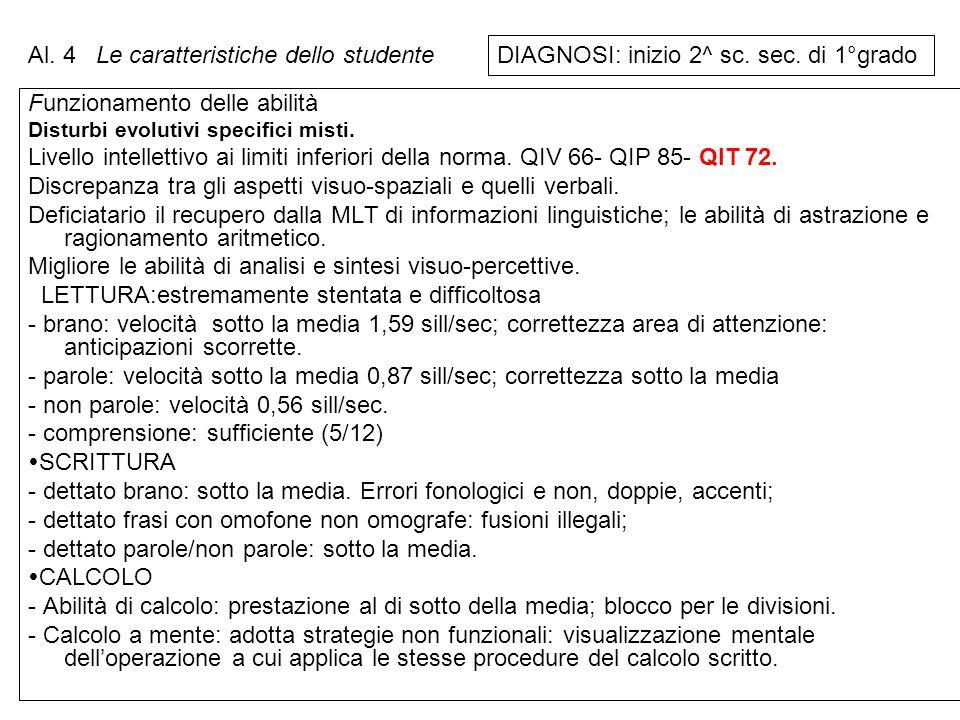 Le caratteristiche dello studente