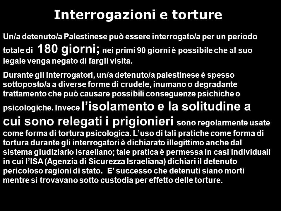 Interrogazioni e torture