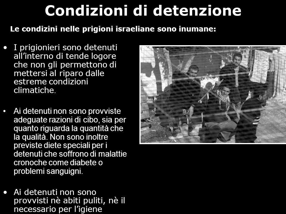 Condizioni di detenzione